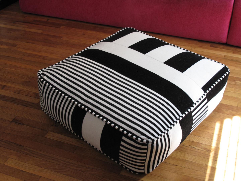 Floor Pillows Reddit : Colorblock Floor Cushion Bessie Mendler