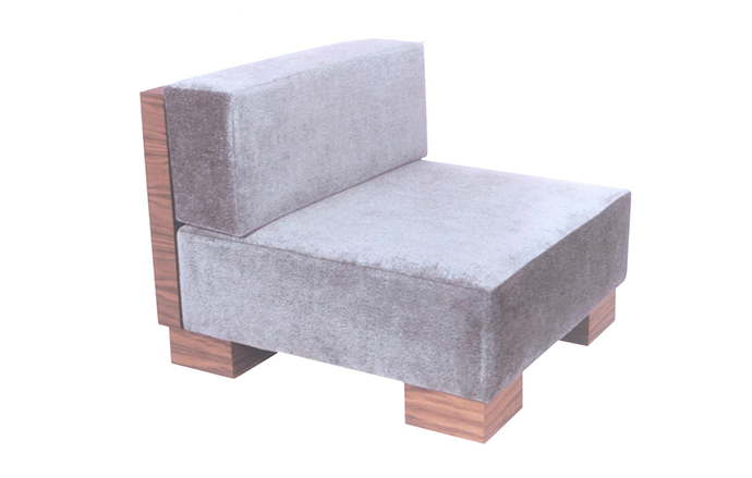 Custom Chair For Lava Furniture Bessie Mendler